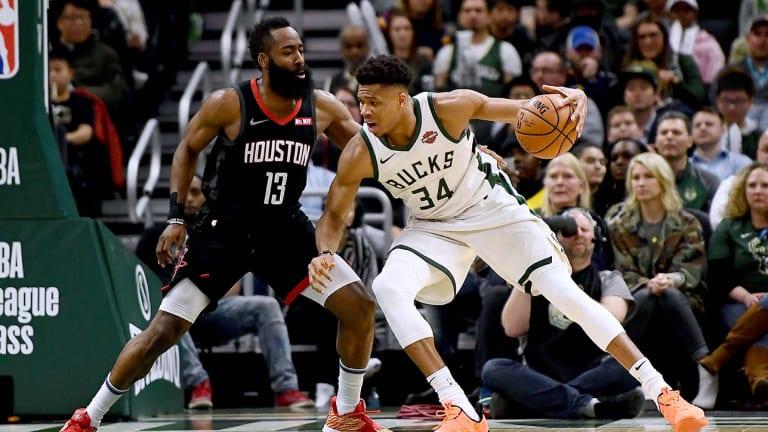 Giannis Antetokounmpo, James Harden Lead All-NBA First Team, LeBron James Named Third-Team