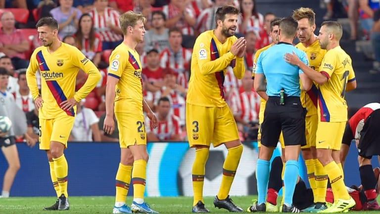 El 1x1 de los jugadores del FC Barcelona en la derrota ante el Athletic Club (1-0)