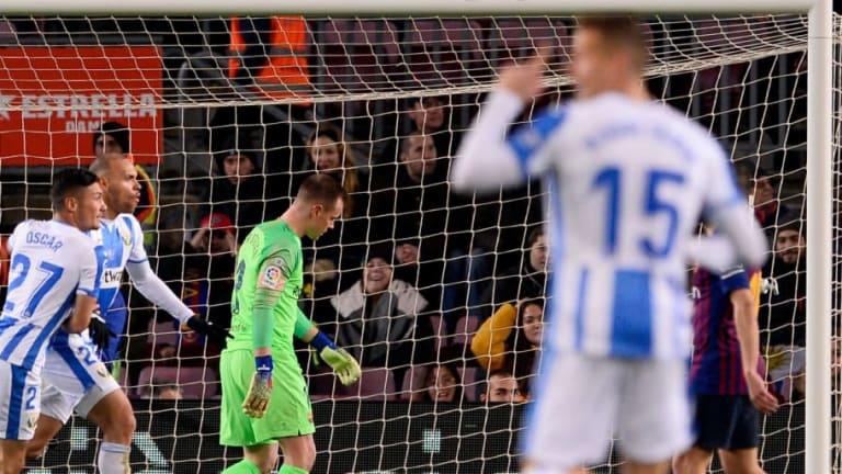 Los malos números en defensa del FC Barcelona esta temporada