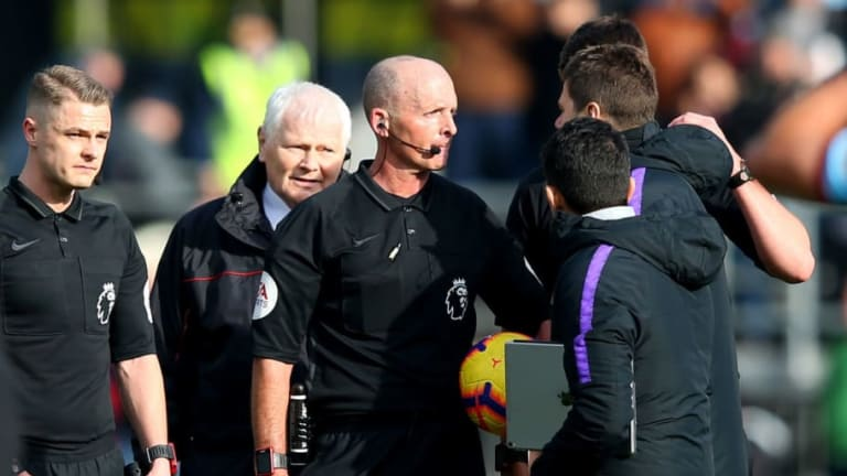 Spurs Boss Mauricio Pochettino Admits He 'Made a Mistake' Accosting Mike Dean After Burnley Defeat