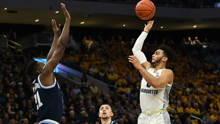 Markus Howard, Marquette End Villanova's Win Streak With Last-Second Stand