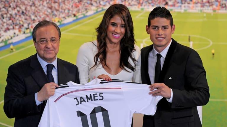 La ex mujer de James quiere ver al colombiano jugando para el FC Barcelona