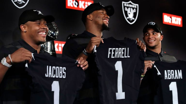 Mike Mayock on the 2019 Draft, and Building the Raiders in the Mayock-Gruden Image