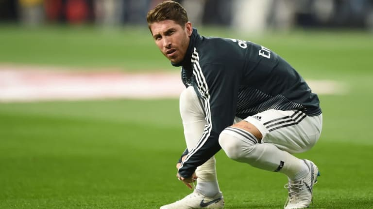 Sergio Ramos 'Doubtful' for El Clasico After Aggravating Hamstring Injury in Clash With Teammate