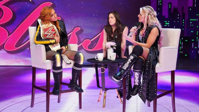 Alexa Bliss Plans to 'Expose' Becky Lynch During Raw Reunion