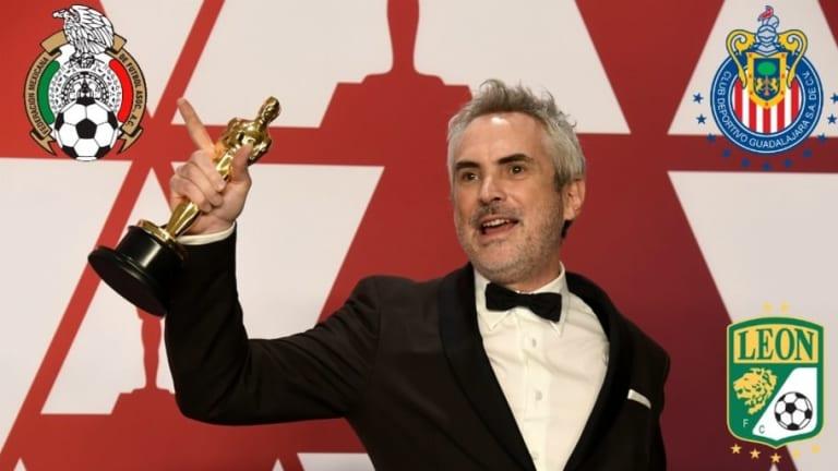 El mundo del fútbol se rinde ante el éxito de los mexicanos en los Óscares