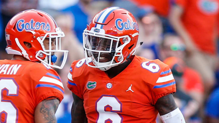 Florida DB Brian Edwards Arrested on Misdemeanor Battery Charge