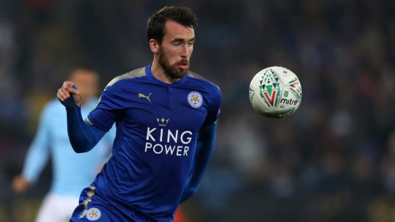 Brendan Rodgers Remains Coy on Christian Fuchs' Future as Contract Talks Continue