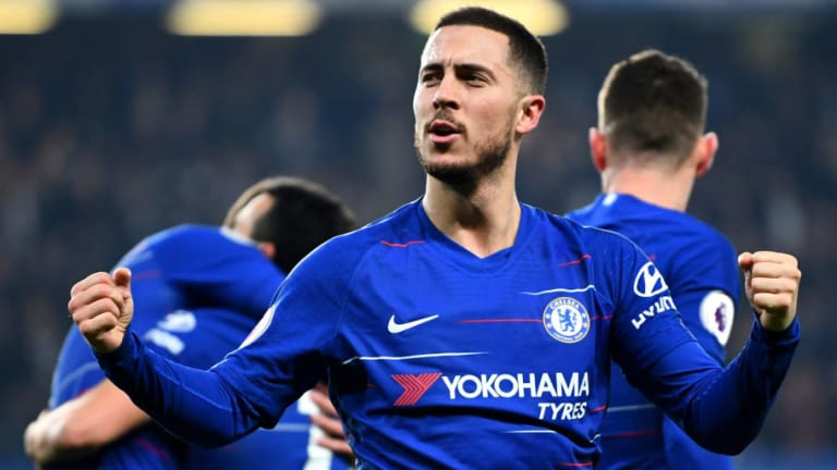 Eden Hazard Named Chelsea's Player of the Year as Part of Unprecedented Awards Treble