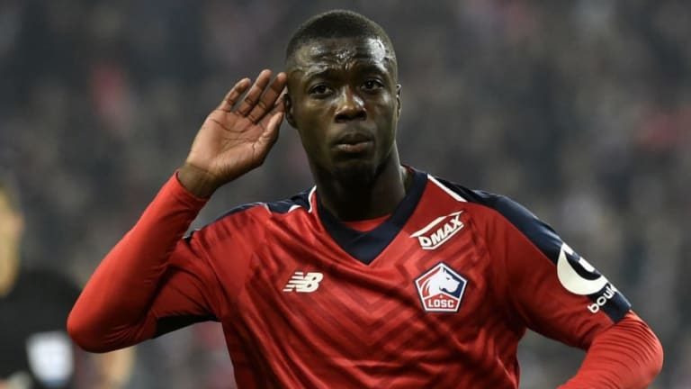 Nicolas Pepe Seen in Arsenal Kit for First Time in Leaked Video Ahead of Official Unveiling
