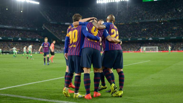 El 1x1 de los futbolistas del Barcelona en la goleada al Real Betis