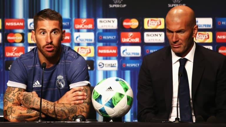 Lo primero que hizo Zinedine Zidane luego de ser presentado fue llamar a Sergio Ramos