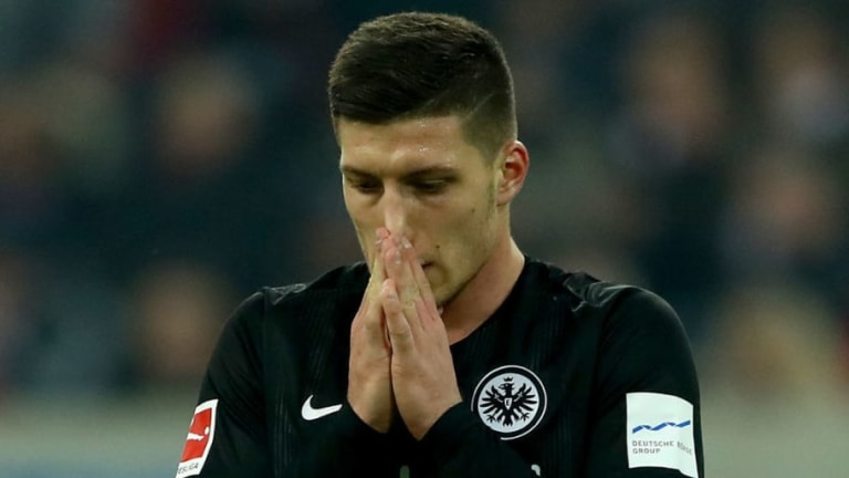 Luka Jovic's Agent Meets Real Madrid With Barcelona Still Some Way From Transfer Agreement