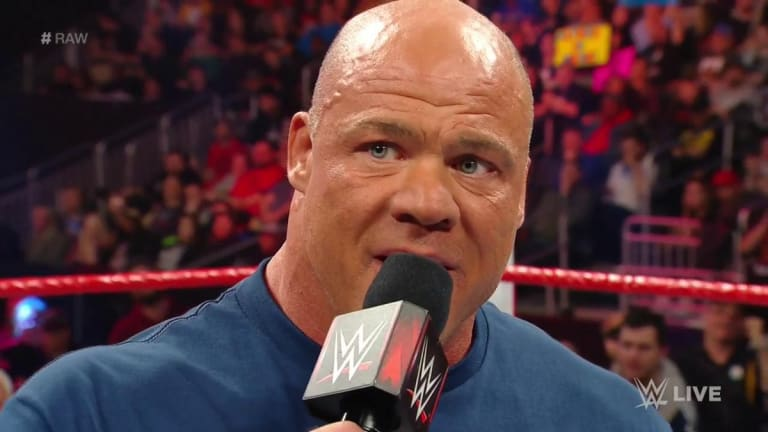 Kurt Angle Announces He Will Have a 'Farewell Match' at WrestleMania