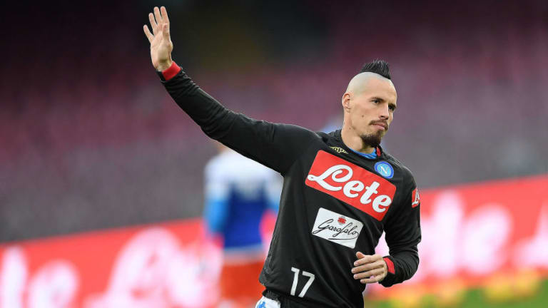 Aurelio De Laurentiis Reveals Juventus, Milan & Inter Wanted to Sign Marek Hamsik During Napoli Stay