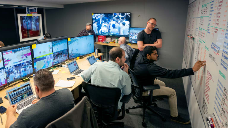 Inside Apple's Sports Surveillance Room That Could Change the Way We Watch Live Events