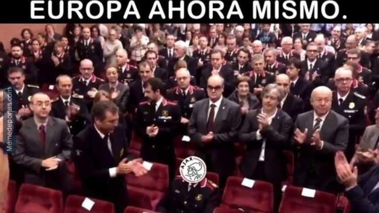 Los mejores 'memes' del fin del ciclo del Real Madrid, Courtois, Vinícius, Solari, Ronaldo y más