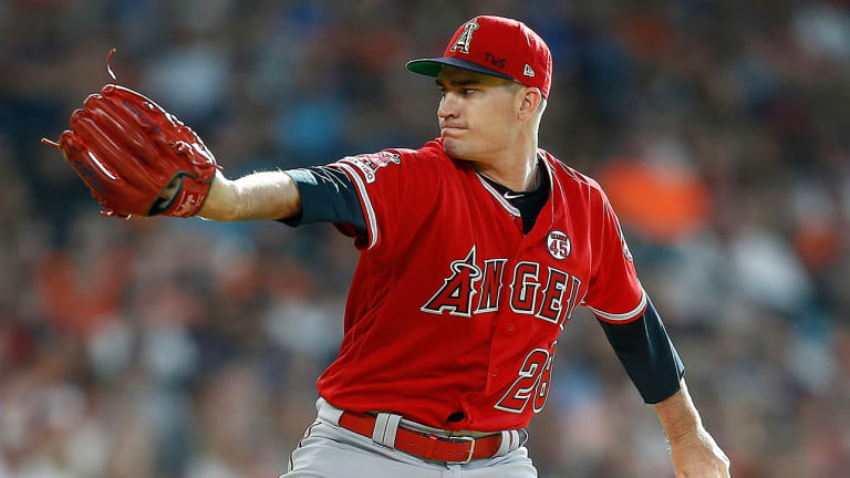 Andrew Heaney Honors Tyler Skaggs by Throwing Late Pitcher's Signature Slow Curve