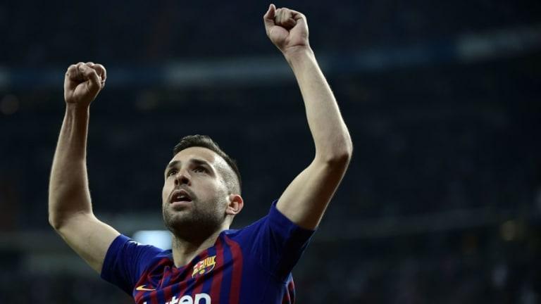 OFICIAL | Jordi Alba renueva contrato con el FC Barcelona hasta 2024