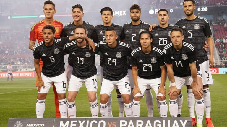 El 1x1 de los jugadores deMéxico en su victoria ante Paraguay