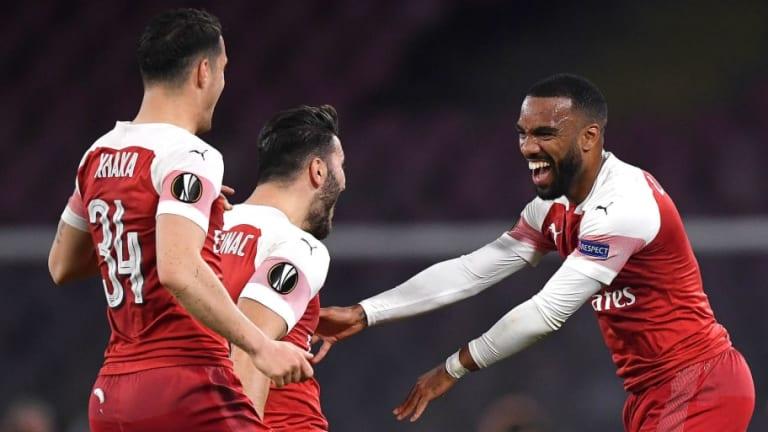 Napoli 0-1 Arsenal (0-3 Agg): Report, Ratings & Reaction as Lacazette Stunner Seals Gunners Progress
