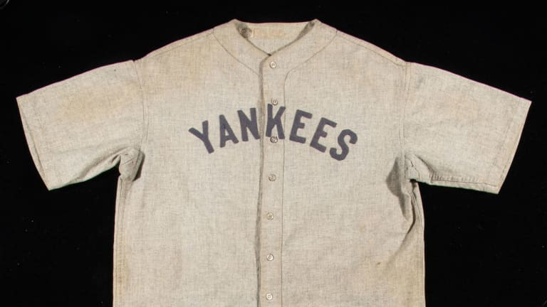Rare Babe Ruth Jersey Expected to Sell at Auction for More Than $4.5 Million
