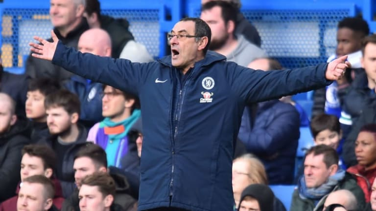 Maurizio Sarri Claims Tactics Are 'Not the Problem' After Lacklustre Chelsea Stumble Once More