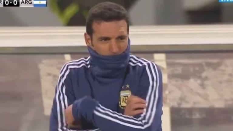 El viento fue el protagonista de los memes tras la pálida producción de la selección argentina
