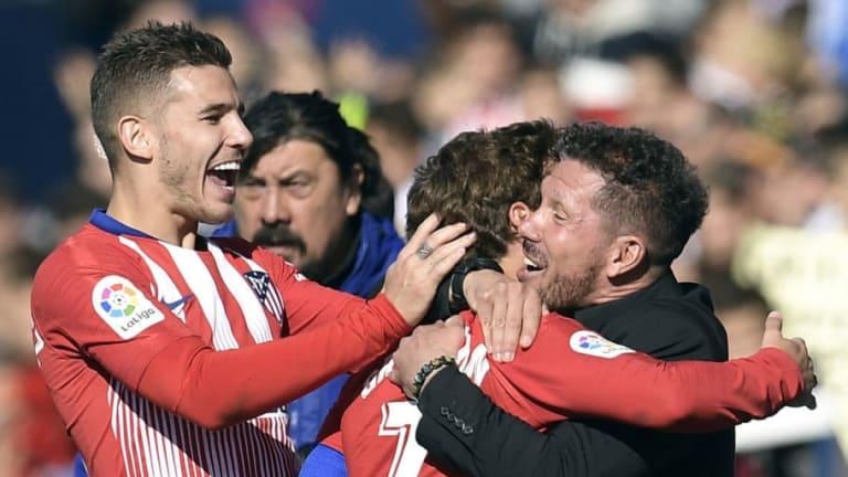 """Simeone, sobre de la venta de Lucas Hernández:""""El club hizo un gran esfuerzo por intentar retenerlo"""""""