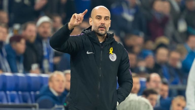 Pep Guardiola Admits He Is Hoping for Man Utd Win Over Liverpool & Plays Down Quadruple Talk