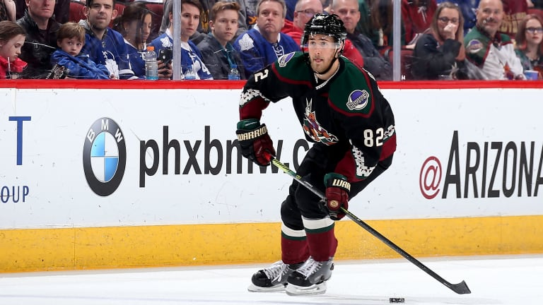 Coyotes Sign Defenseman Jordan Oesterle to Two-Year Extension