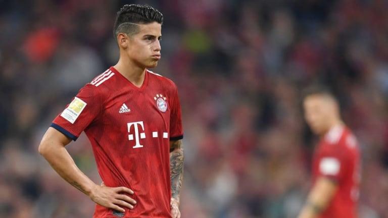 James Rodríguez quiere salir del Bayern Múnich