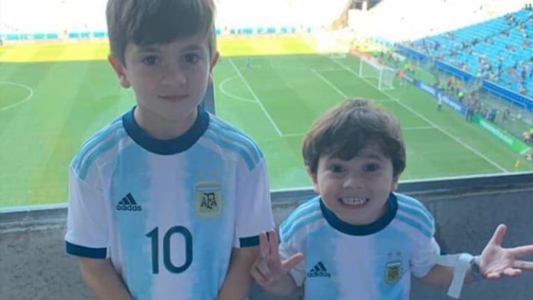 La imagen viral de Mateo Messi que desató una catarata de memes en las redes sociales