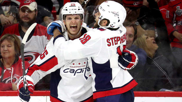 Defending Cup Champion Capitals Clinch Playoff Spot in Win Over Carolina