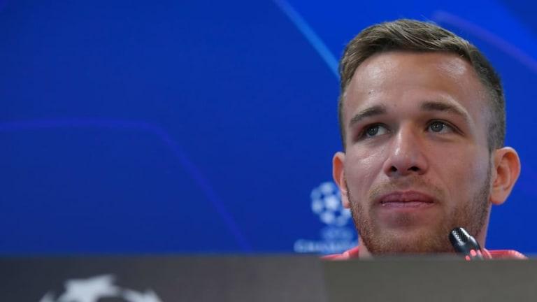 Arthur reconoce que fue un error ir a la fiesta de cumpleaños de Neymar