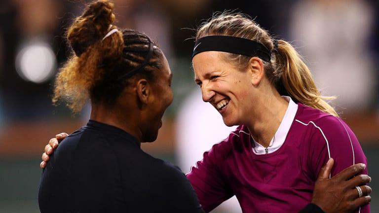 Serena Williams Beats Friend Victoria Azarenka in Epic Second-Round Match at Indian Wells