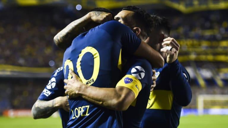 BOCA 1-0 ARGENTINOS JUNIORS    El 1x1 del Xeneize que se clasificó a la final de la Copa Superliga
