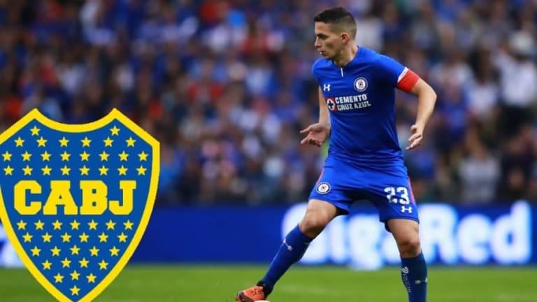 Iván Marcone dejaría al Cruz Azul para jugar con Boca Juniors