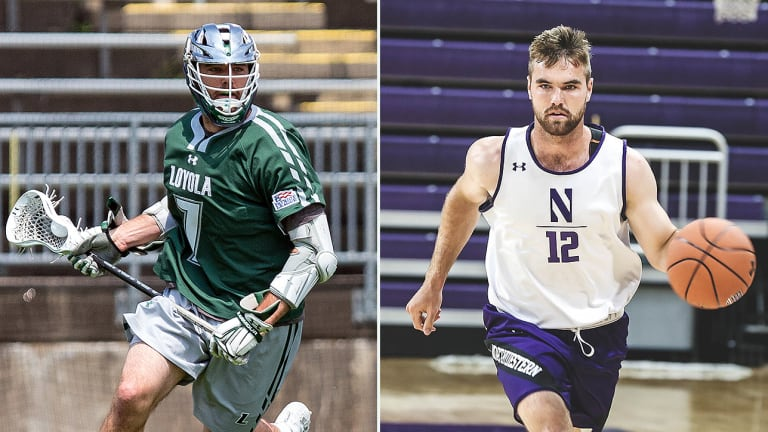 College Lacrosse Star Pat Spencer Ready for Turn on the Hardwood