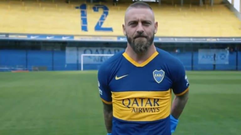 """El emotivo vídeo con el que De Rossi se presentó en la Bombonera: """"Questo è Boca"""""""