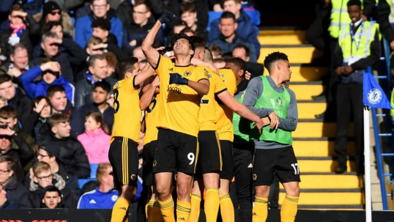 Raúl Jiménez anota en el empate 1-1 entre el Chelsea y el Wolverhampton