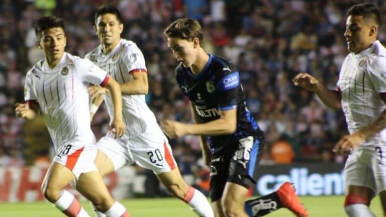 El 1x1 de los jugadores de Chivas en su empate ante Querétaro