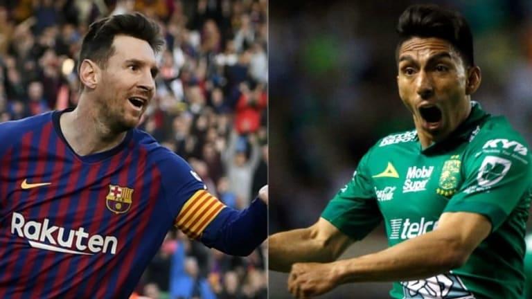 La Liga MX compara el desempeño de Ángel Mena este 2019 con el de Leo Messi