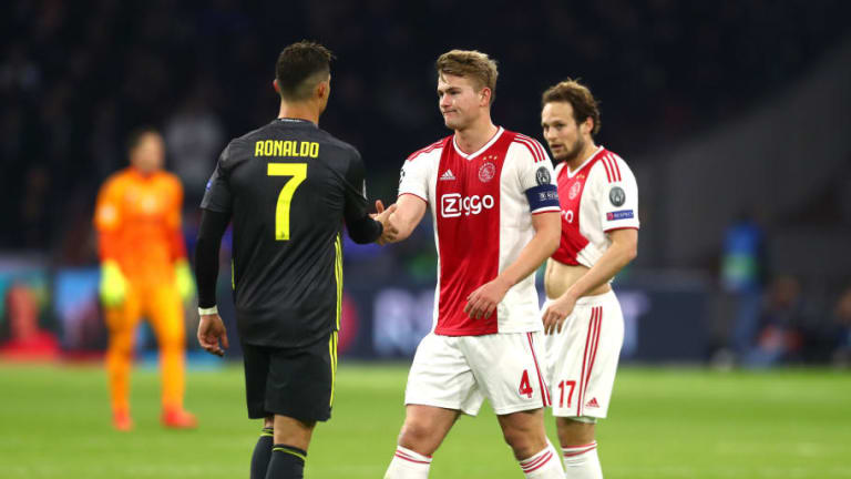 Cristiano Ronaldo Denies That His 'Joke' Influenced Matthijs de Ligt's Decision to Join Juventus
