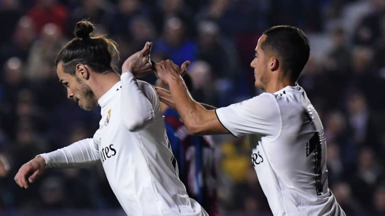 The Reason for Gareth Bale's 'Angry' Celebration During Real Madrid Win Over Levante