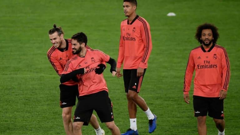 Los dos jugadores del Real Madrid que fueron a entrenar en el día libre
