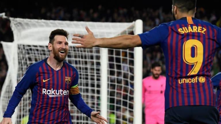 El bonito mensaje de Luis Suárez a Leo Messi de fiesta en Ibiza