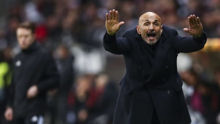Luciano Spalletti Proud of 'Fire' Shown By Inter Ahead of Crucial Milan Derby