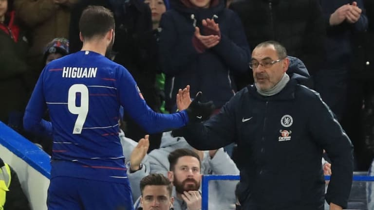 Gonzalo Higuain Insists Maurizio Sarri Will Get the Best Out of Him at Chelsea After Napoli Success