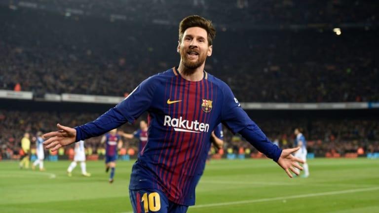 El Espanyol es el equipo que más veces ha sufrido a Messi a balón parado